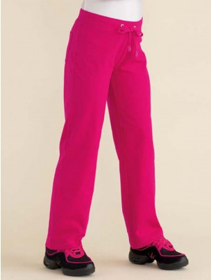 Cotton/Elastane Leisure Pants - Pink