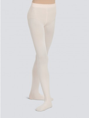 Capezio Ultra Soft Self Knit Waistband Footed Tight