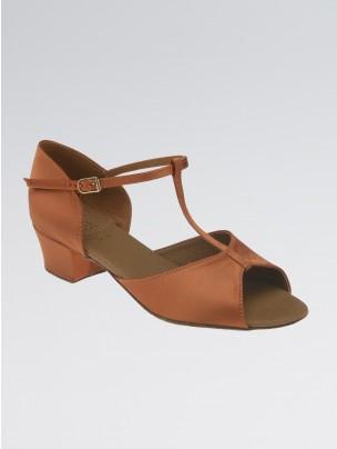 DSI Delphine Satin T-Bar Sandal Shoe