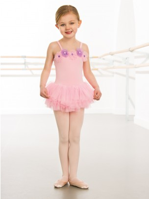 1st Position Flower Button Trim Tutu