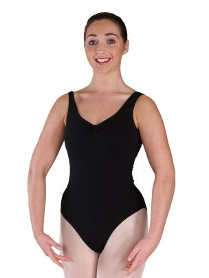 Freed Bethany Ruched Leotard - Black