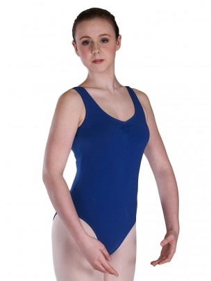 Freed Bethany Ruched Leotard - Royal Blue