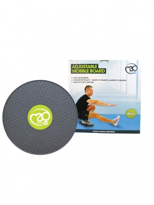 Fitness Mad 40cm Adjustable Wobble Board