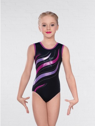 1st Position Erin Diamante Sleeveless Leotard