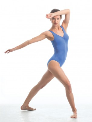 Intermezzo Horizontal Cross Back Strap Leotard