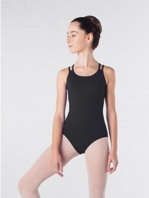 Intermezzo Bodytircru Sleeveless Strap Back Leotard