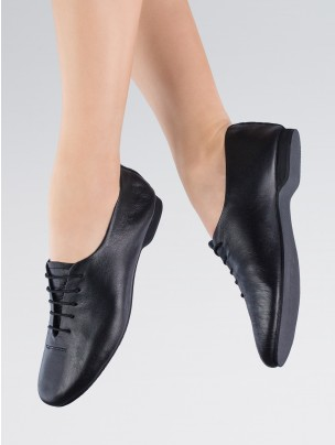 1st Position Leather Jazz Shoes II