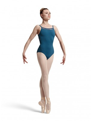 Bloch Eyal Lace and Ribbon Camisole Leotard