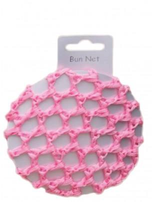 Pink Crochet Bun - Single - Main