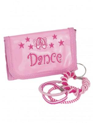 Pink Dance Purse Keyring - Main