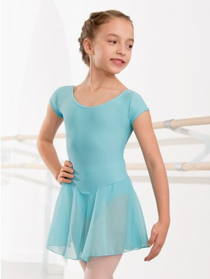 1st Position Milly Voile Skirted Cap Sleeve Leotard