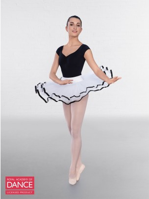 RAD Approved Traditional White Tutu with Ribbon