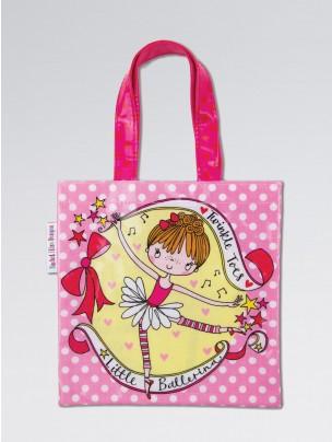 Rachel Ellen Little Ballerina Mini Tote Bag