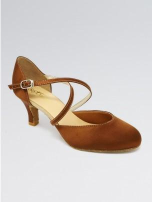 So Danca Cushion Lining Easy Buckle Cross Straps Ballroom Shoes
