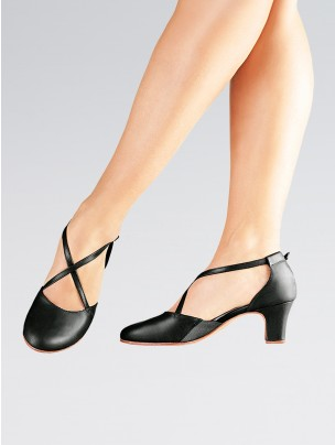 So Danca Cross Strapped Cushion Lining 2 Inches Heel Shoes