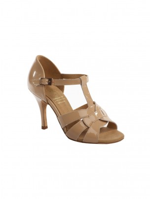 Supadance Latin Patent Sandal