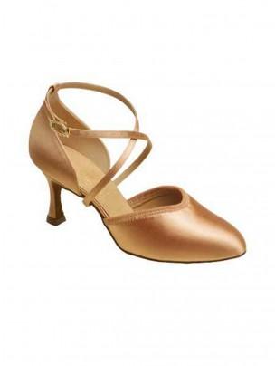 Supadance Closed Toe Satin Sandal