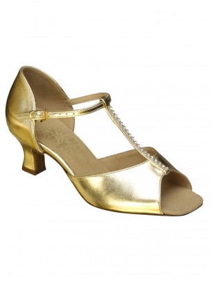 Supadance Classic Latin T-Bar Coag Sandal (Wide Width)