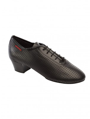Supadance Teaching And Practice Perforated Leather Shoe