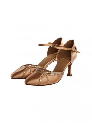 Supadance Satin Closed Toe Sandal