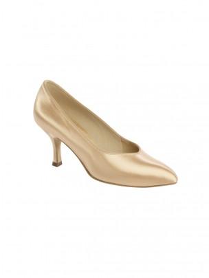 Supadance Satin Pointed Toe Court Shoe