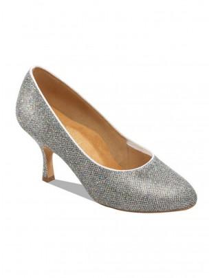 Supadance Rainbow Round Toe Court Shoe