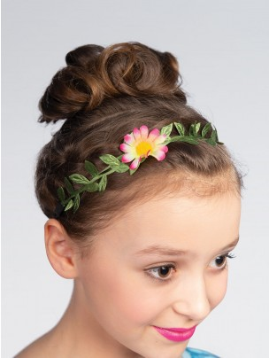 Pink and White Flower Headbands