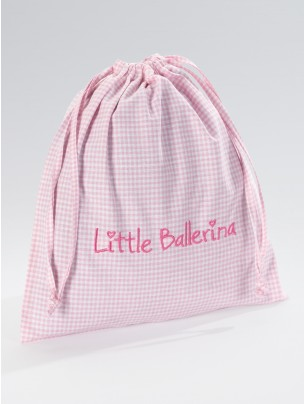 Little Ballerina Large Gingham Bag