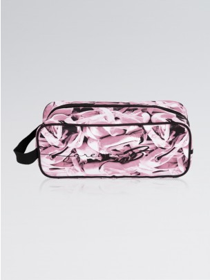 ForeverB Ballet Print Pointe Shoe Bag