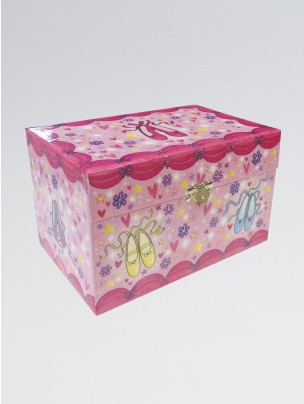 Sparkly Jewellery Set Music Box