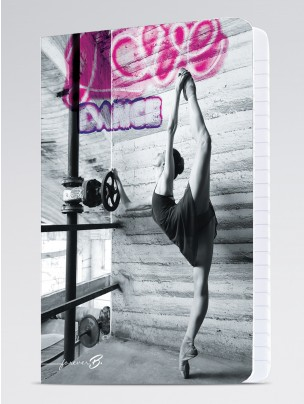 ForeverB A4 Notebook Ballet Dancer