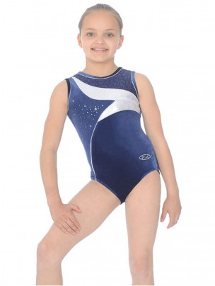The Zone Cosmic Round Neck Sleeveless Leotard