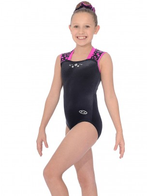 The Zone Astral Square Neck Sleeveless Leotard