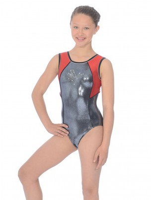 The Zone Atomic Round Neck Sleeveless Leotard