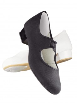 1st Position Canvas Low Heel Tap Shoes - Main