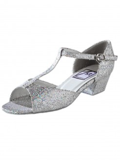 "1st Position Hologram Ballroom Shoe - 1"" Heel - Main"