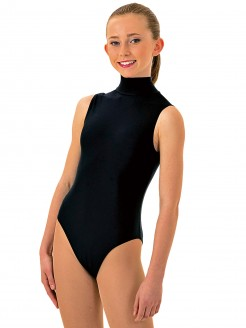 1st Position Jill Polo Neck Sleeveless Leotard - Main