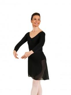 1st Position Pro Wrap Voile Skirt - Adults - Main