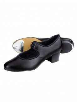 1st Position PU Cuban Heel Tap Shoes - Main