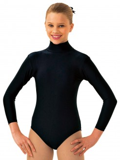 1st Position Vicky Long Sleeved Keyhole Back Leotard - Main