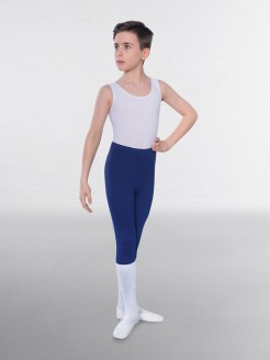 1st Position Male Sleeveless Scoop Neck Leotard
