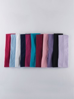 1st Position Cotton Headbands - Pack of 10