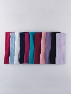 1st Position Stirnbänder aus Baumwolle - 10er Pack
