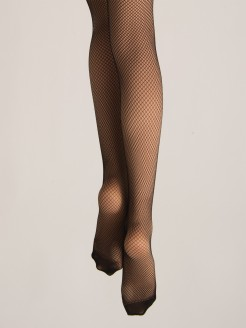 Silky Fishnet Tights