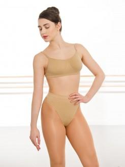 Silky nahtloses BH-Top mit transparentem Rücken