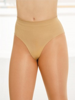 Silky Seamless High Cut Brief