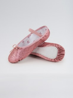 Bloch Glitterdust Full Sole Ballet Shoe