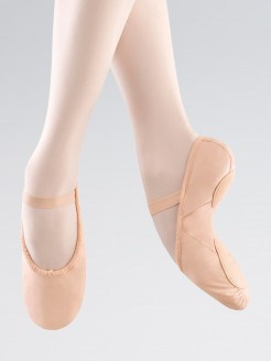 """Bloch """"Prolite II"""" Rosa Ballettschuhe aus Leinen"""