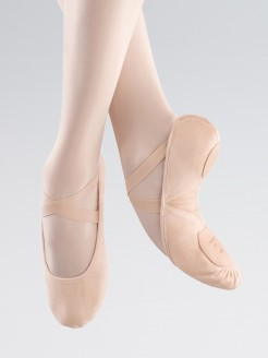 Bloch Pro Arch Canvas Ballet Shoes
