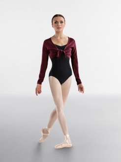Bloch Jessie Crop Tie Front Top